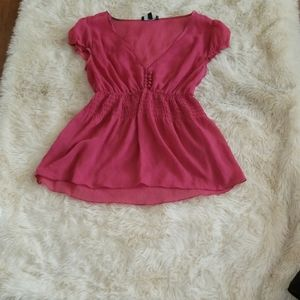 Pink the limited blouse